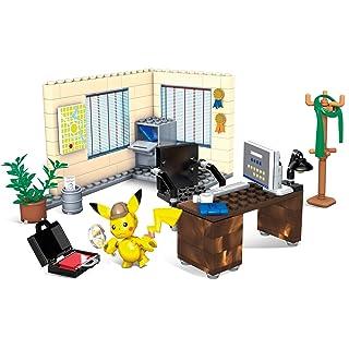 Mega Construx Pokemon Detective Pikachu's Office 183 Pieces