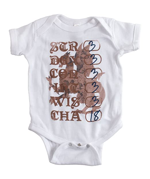 5fc7df09 Amazon.com: Geekiest Baby Ever | D&D Spoof Funny Infant Nerd Humor One  Piece: Clothing