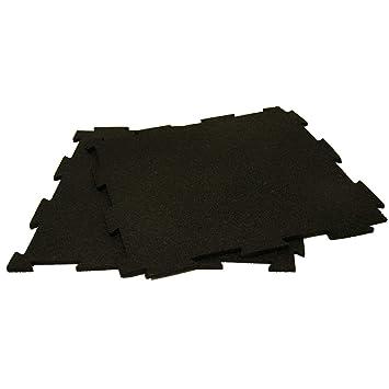 Interlocking Rubber Floor Tiles interlocking rubber floor tiles 24 x 24 x 516 Rubber Cal Puzzle Lock Interlocking Floor Tiles Black 38 X 20 X