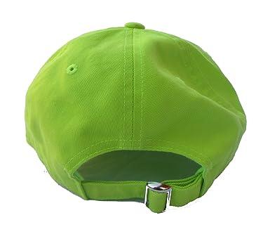 4548603705e1d Rob'sTees Savage Yeezus Font Neon Green Dad Hat Emoji Meme Twill ...