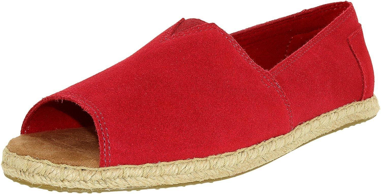 8f38fbca893 TOMS Open Toe Alpargatas Womens Shoes