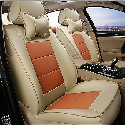 Pleasant Amazon Com Autodecorun Cowhide Leatherette Custom Fit Alphanode Cool Chair Designs And Ideas Alphanodeonline