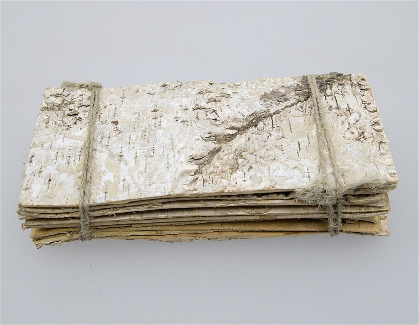 Tischdeko holz rinde  10 Stk Birkenplatten 19x9cm Holz Birkenrinde Deko Birkerinde ...