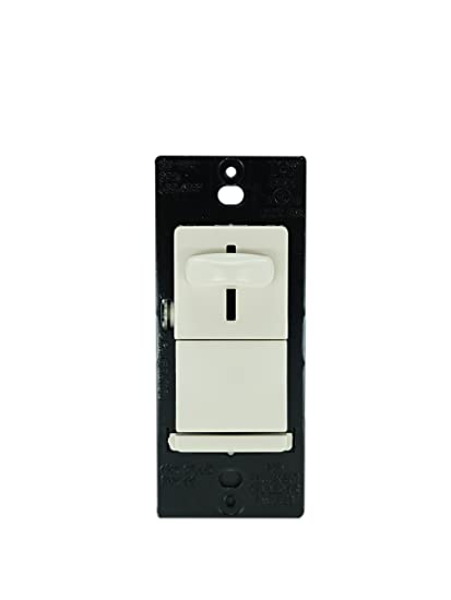 Legrand-Pass & Seymour LSCL453PLACCV4 TradeMaster174, CFL / Incandescent / LED Single Pole Dimmer Switch, Light Almond - - Amazon.com
