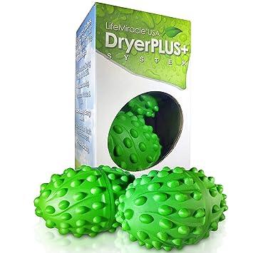 Life Miracle bolas secadoras, el mejor suavizante permanente no tóxico, sin alergias y libre