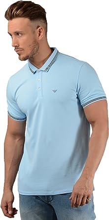 Emporio Armani - Polo - Manga Corta - para Hombre Azul Azul ...