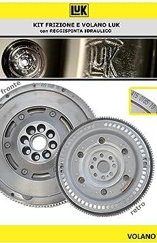 600 0044 00 LUK KIT DE EMBRAGUE Y VOLANTE MOTOR 4 PIEZAS: Amazon.es: Coche y moto