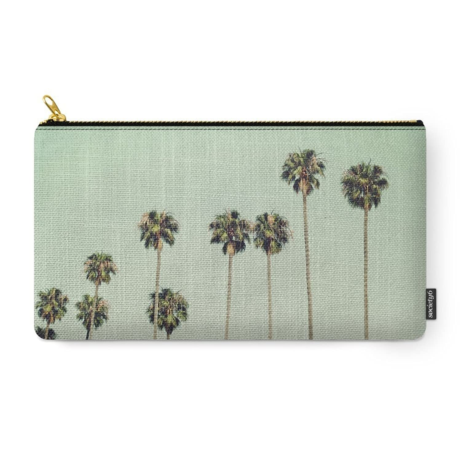 Society6 Palm Trees Carry-All Pouch