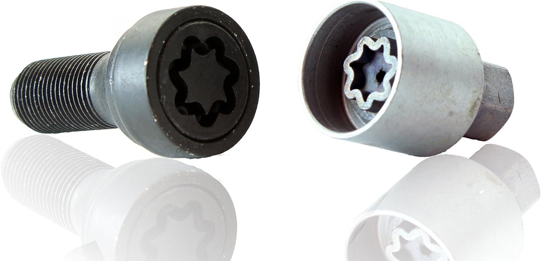 X3 f25 Heyner Germany Locking Wheel Nuts Set 4 Removal Key Car Security Locks Anti-theft