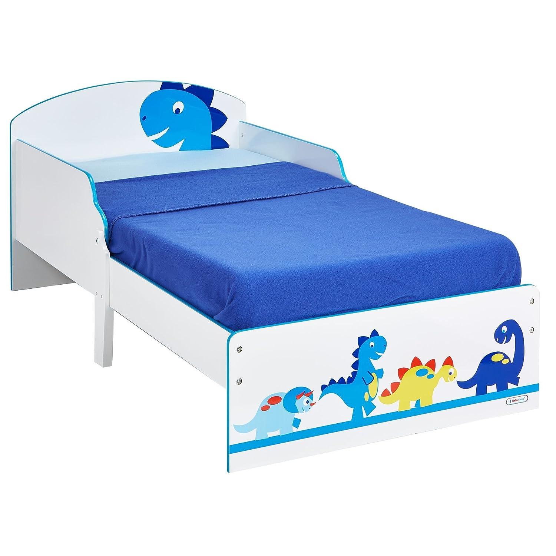 Vehicles Boys Kids Toddler Bed by HelloHome Worlds Apart 450EEV01EM Bedroom Childrens furniture