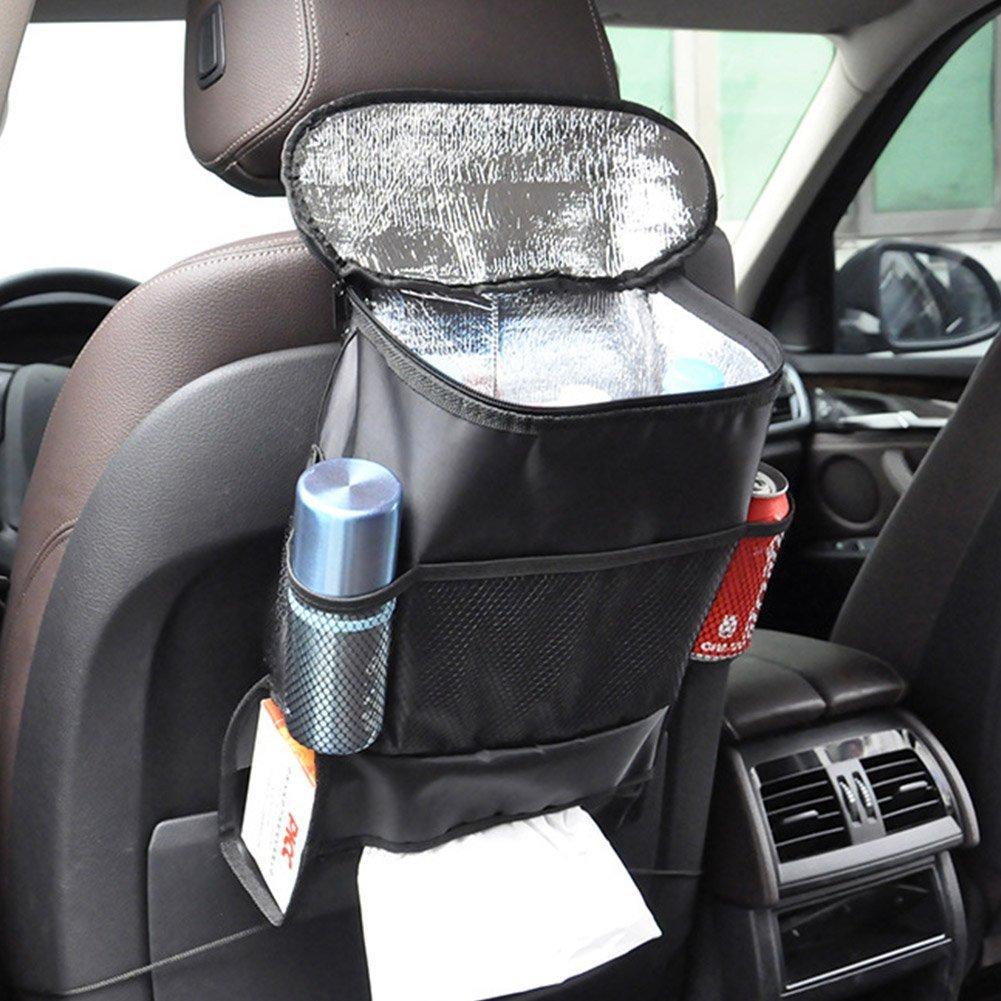 ulable Auto Rü cksitz Organizer/Auto Sitz/4. Reise Aufbewahrungstasche/Isolierte Sitz Zurü ck Auto Geträ nkehalter Halter Kü hler/Aufbewahrungstasche Cool Wrap Bottle Bag/Mesh Taschen