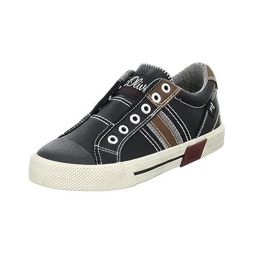 Oliver 5-5-44100-36-001 - Mocasines para niño, Color Negro, Talla 34: Amazon.es: Zapatos y complementos