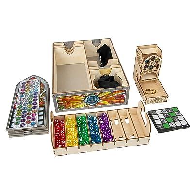 The Broken Token Box Organizer for Sagrada: Toys & Games [5Bkhe1803441]