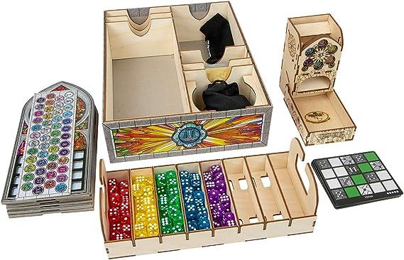 The Broken Token Box Organizador para Sagrada: Amazon.es: Juguetes y juegos