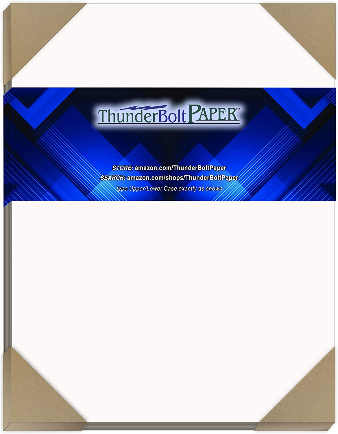 "100 Sheets Chipboard 24pt White 1 Side - 8"" X 10"" (8X10 Inches) Photo