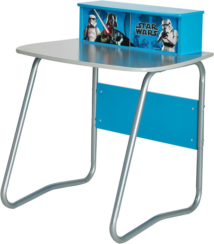 Dimensions : H Bleu 70 cm x 53 cm Bois Star Wars 480SWS Bureau Junior 80 cm x L l