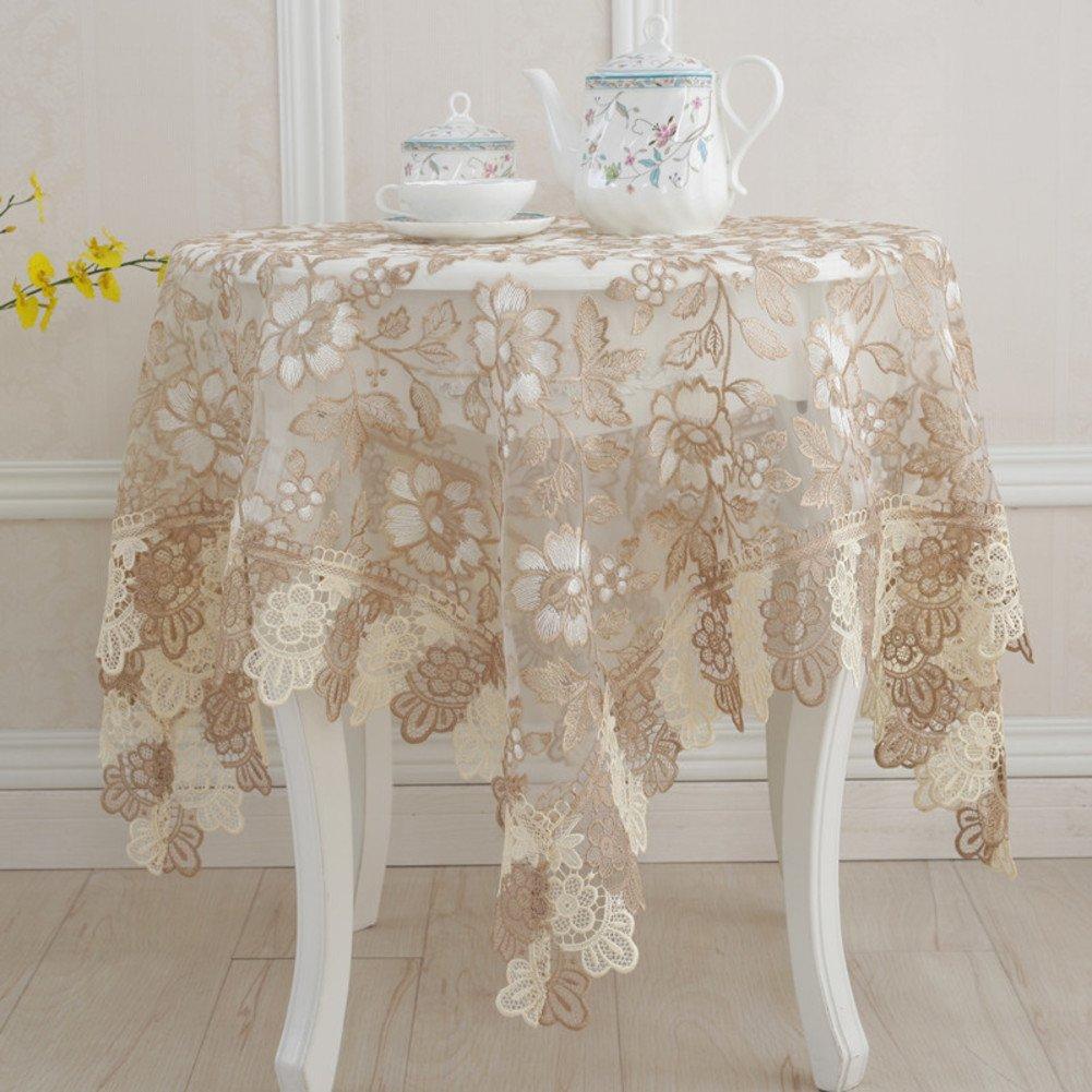 DE European round table,spitzen sie tischdecke,tuch handtuch tisch cloth tisch tuch-C Durchmesser200cm(79inch) A 110x160cm(43x63inch)