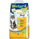 Biokat's Classic 3in1, arena para gatos sin fragancia – Arena aglomerante para gatos: de alta calidad y con 3 tamaños…