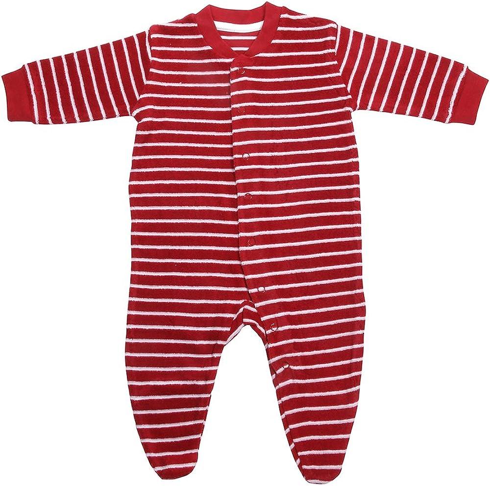 Living Crafts Baby//Kinder Frottee-Schlafanzug Bio-Baumwolle