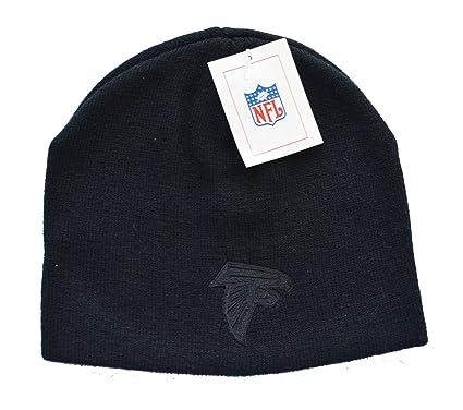 Amazon.com   Atlanta Falcons Black Tonal Skull Cap - NFL Cuffless ... ed2a9cfc7