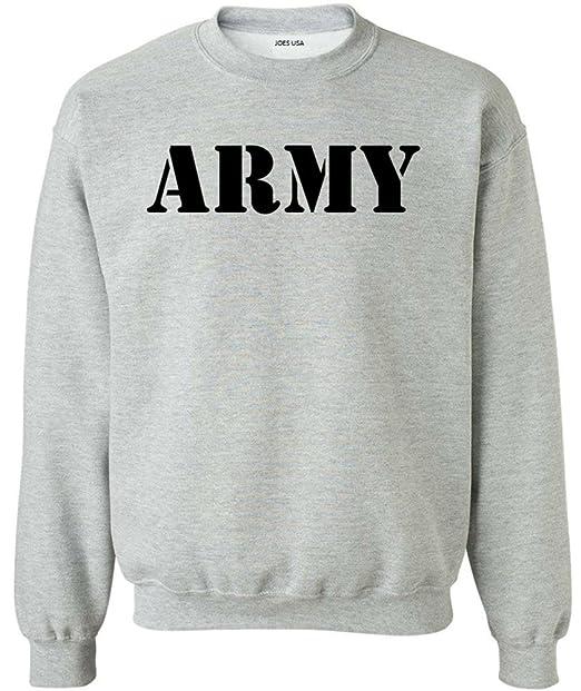 Joe s USA Men s ARMY Logo Crewneck Sweatshirts - Army Sweatshirts S-5XL at  Amazon Men s Clothing store  55ccece81