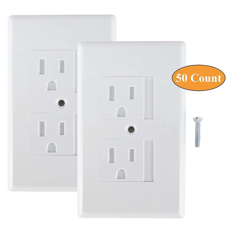 正規品 Mommy's Helper Safe Safe Plate Electrical - Outlet Mommy's Covers Standard, White - by Mommy's Helper B017RFAC08, 新潟を呑もう!越後酒蔵 高野酒造:242cd52c --- goumitra.com