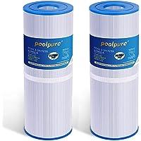 POOLPURE 2X Filtros de SPA para el reemplazo de la bañera de hidromasaje para Pleatco PRB251N, Filbur FC-2375, Unicel C…