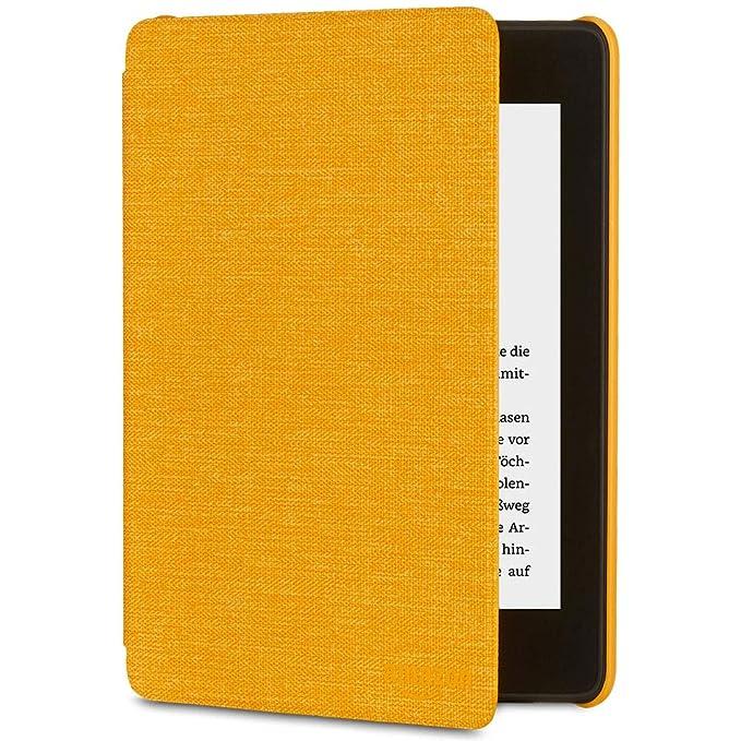 Amazon Kindle Paperwhite-Hülle aus wassergeeignetem Stoff (10. Generation – 2018), Gelb