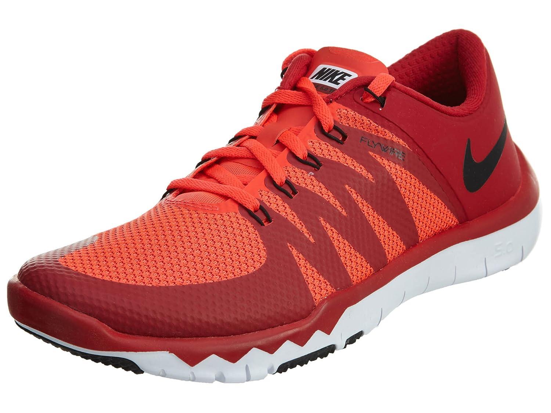 Nike Free Trainer 5.0 V6 Herren Low-Top  40 EU|Rojo / Negro / Blanco (Gym Red / Blk-brght Crmsn-white)