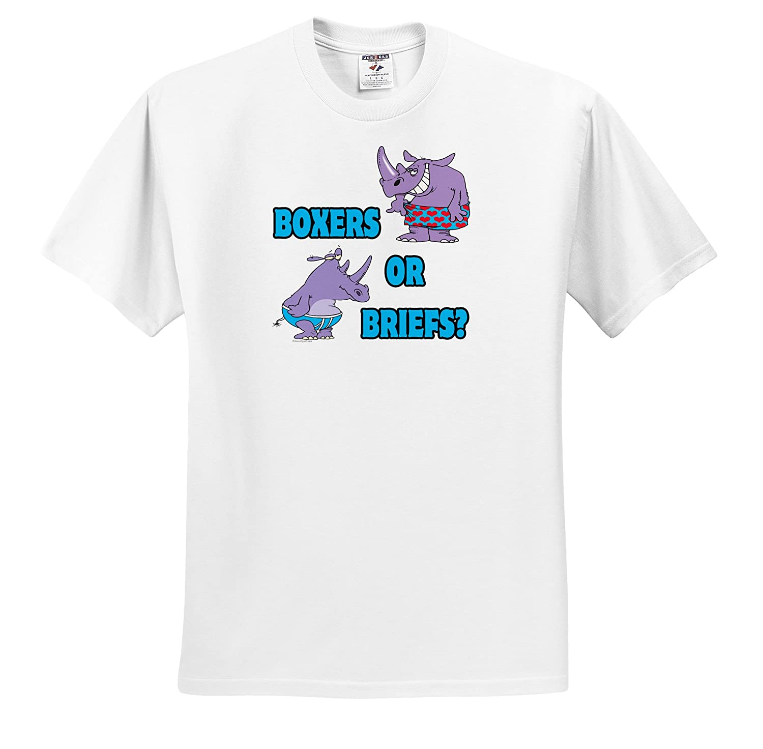 3T T-Shirts Boxers or Briefs Funny Undies Rhinos Dooni Designs Random Toons Toddler T-Shirt
