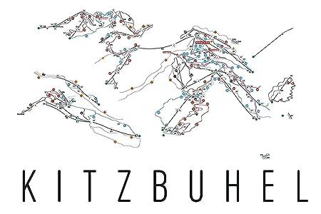 Amazon Com Kitzbuhel Poster Kitzbuhel Ski Resort Poster Kitzbuhel