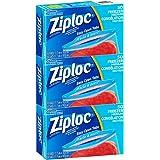 Ziploc Freezer bags Medium/Quart Size 17.7 cm x 18.8 cm Ea. - 150 Count