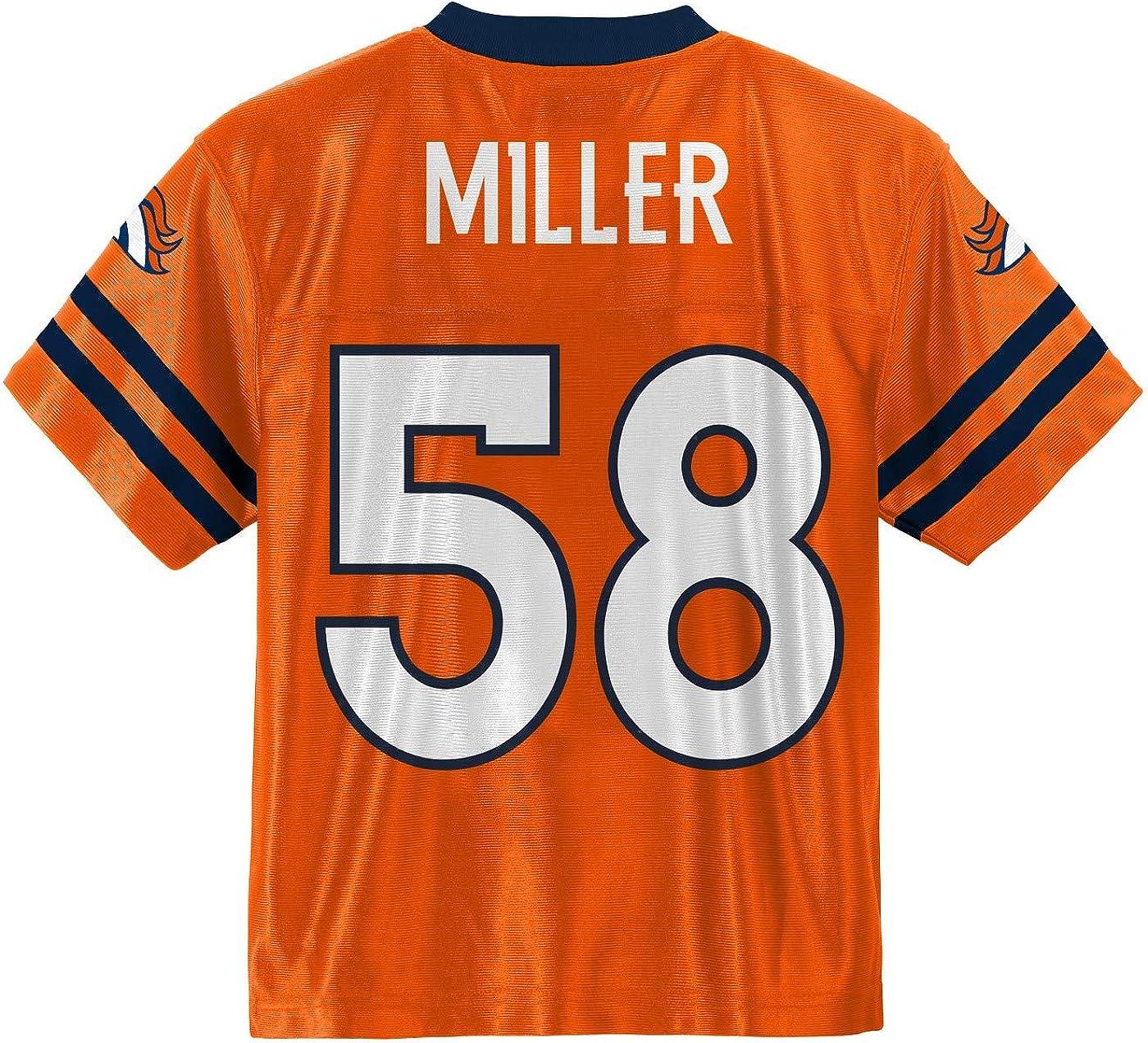 OuterStuff NFL Youth Denver Broncos Von Miller #58 Alternate Replica Jersey