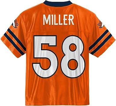 Von Miller Denver Broncos #58 Orange Youth Home Player Jersey