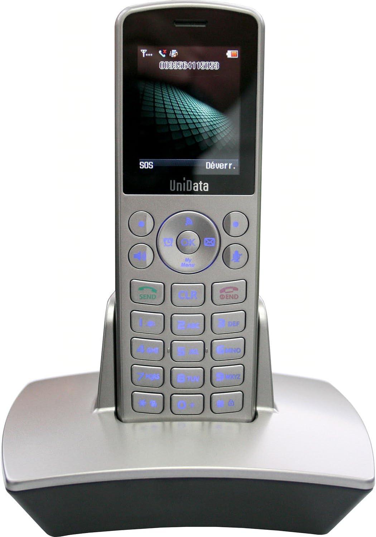 Unidata Wpu 7800 Drahtlose Wifi Voip Telefon Elektronik