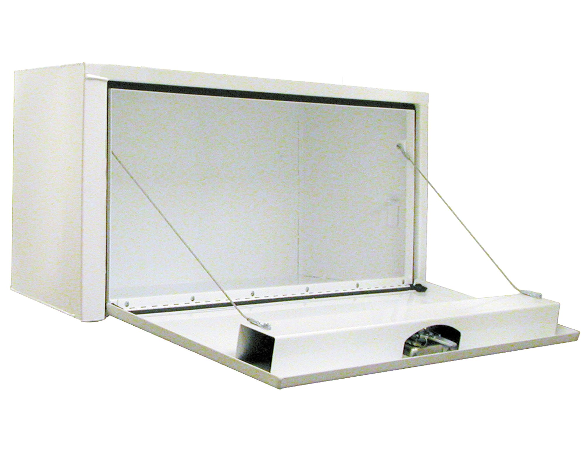Buyers Products 1703405 White Steel Underbody Truck Box w/T-Handle Latch (14x16x36 Inch) by Buyers Products (Image #2)