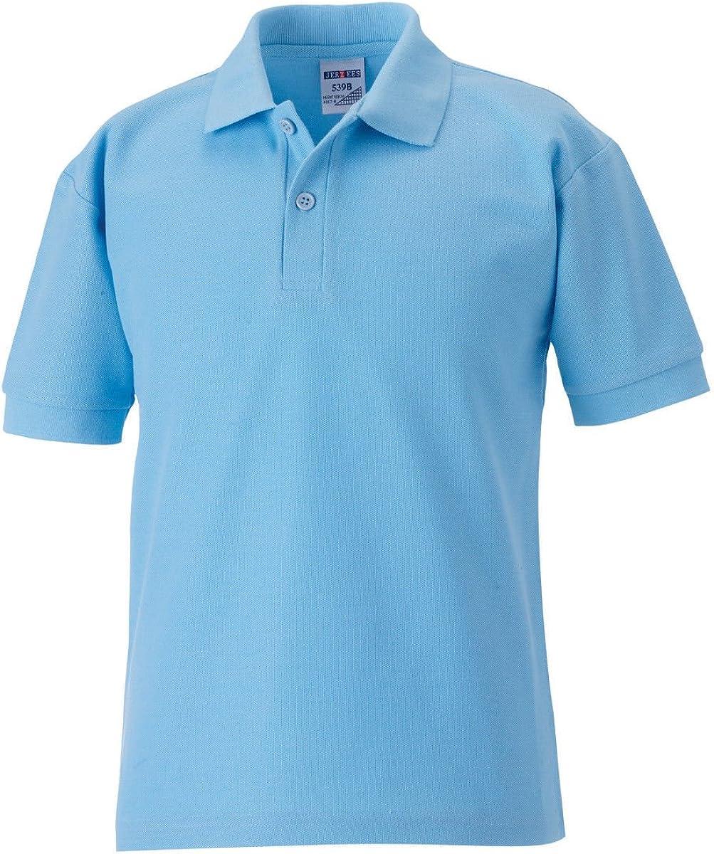 Jerzees Schoolgear langlebiges Polo Shirt per Bambini