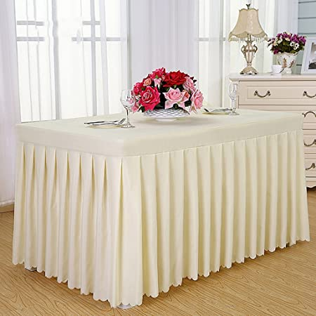 LY Tablecloths Hotel Tablecloths Cold Dining Table Skirts - Conference table covers