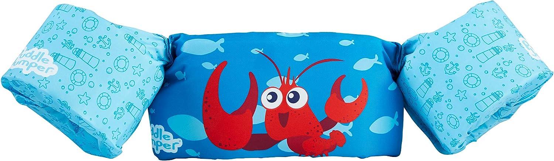 Sevylor Puddle Jumper, Manguitos bebé para Aprender a Nadar, para niños de 2 a 5 años, De 15 a 30 kg de Peso, Azul