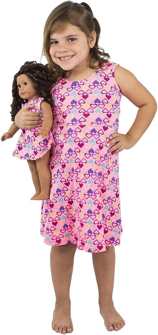 Ropa De Vestir Para Niñas Y Muñecas A Juego Para Muñecas Americanas Y Otras Muñecas De 18 Pulgadas Clothing