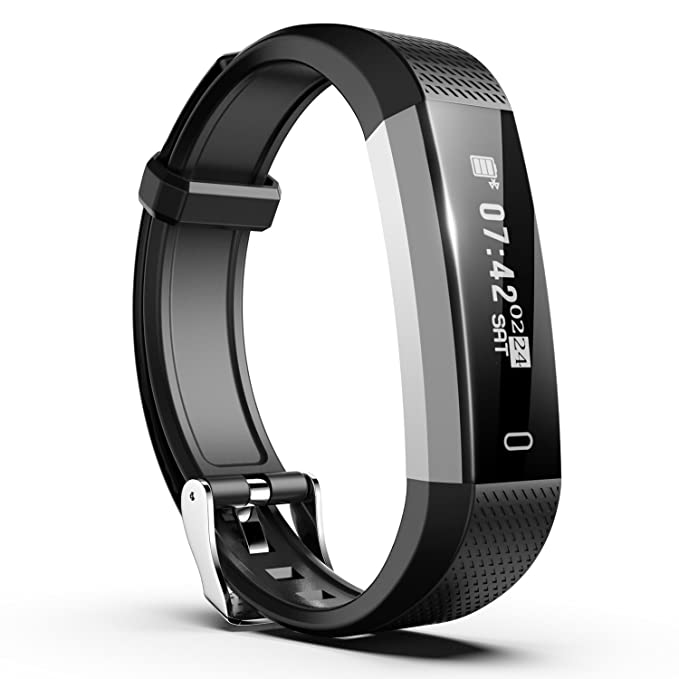 N1 Pulsera Inteligente Impermeable, Pulsera Deporte Fitness de Actividad Monitor de Sueño