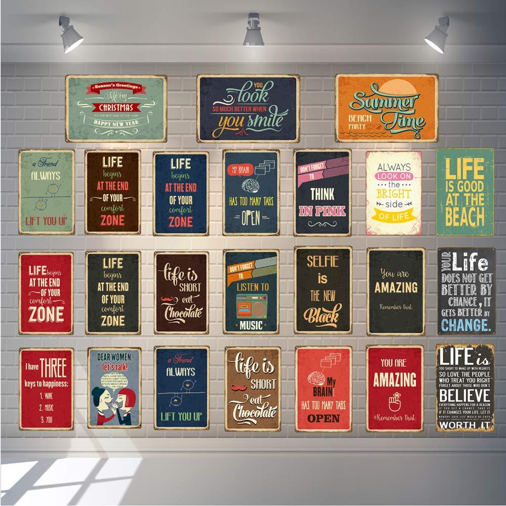 Kia Haop Mazda Parking Only Plaque en M/étal Fender en M/étal D/écorative Garage Caf/é Jardin Salon Cuisine Affiche Murale Poster D/écoration