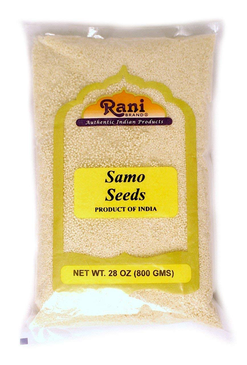 Rani Samo Seeds Whole (Japanese barnyard millet / Jungle Rice/Moriyo/ Samak Rice) Echinochloa frumentacea 28oz (800g) Bulk ~ All Natural | Vegan | Gluten Free Ingredients | NON-GMO | Indian Origin