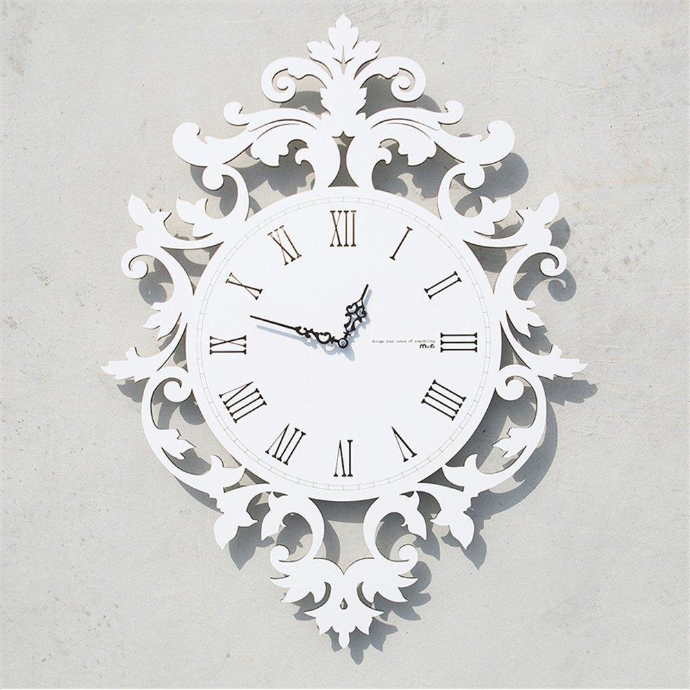 European Roman numeral Wall clock living room creative modern clock individuality art restaurant decoration wall A/16 inches