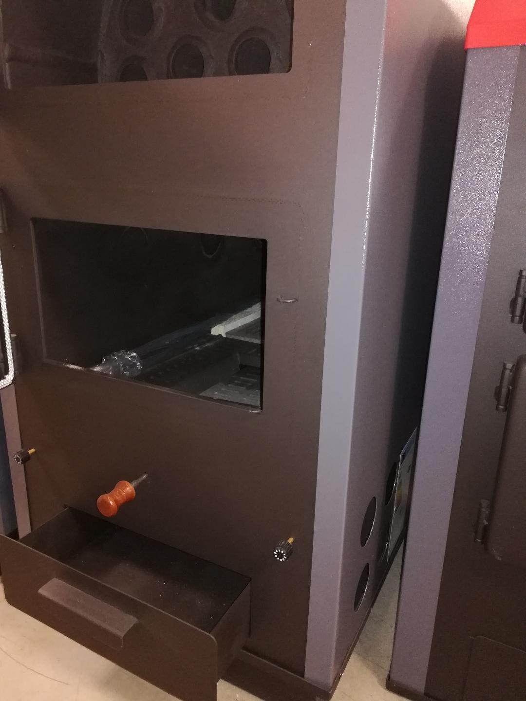 Caldera maciza multicombustible de 44 kW Prity LB L para leña, leña, carbón, pellets: Amazon.es: Bricolaje y herramientas