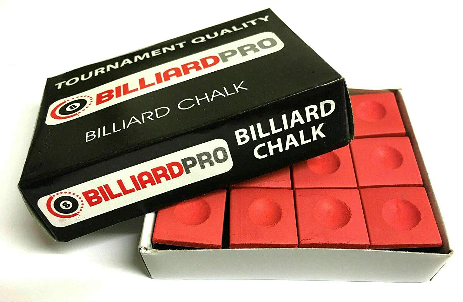 cueball16 12 Pieces BOX of Tournament Quality Snooker or Pool Cue Tips Chalks