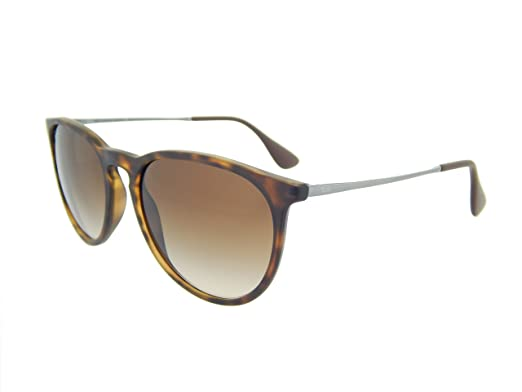 ray ban mens brown sunglasses 0rb4171  new ray ban erika rb4171 865/13 tortoise/brown gradient 54mm sunglasses