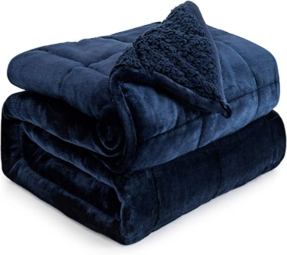 Weighted Blanket 15lbs for Queen Bed