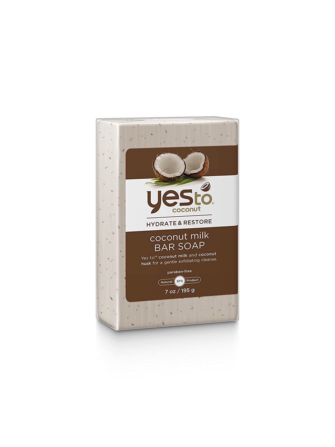 Amazon.com : Yes to Coconut Hydrate and Restore Milk Bar Soap ...