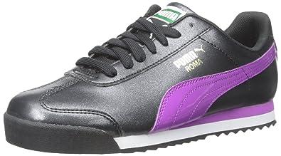 PUMA Kids Roma Basic Glitter Jr Sneaker (Little Kid Big Kid) 6110fda259